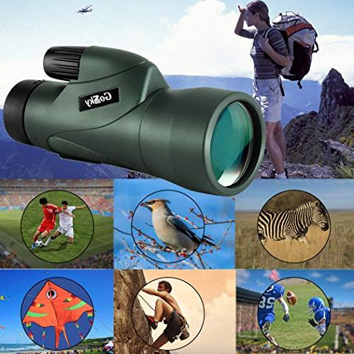 Gosky High Monocular Smartphone New Monocular Prism Wildlife Watching Wildlife