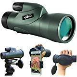 Gosky 10x50 High Definition Monocular Telescope and Quick Sm