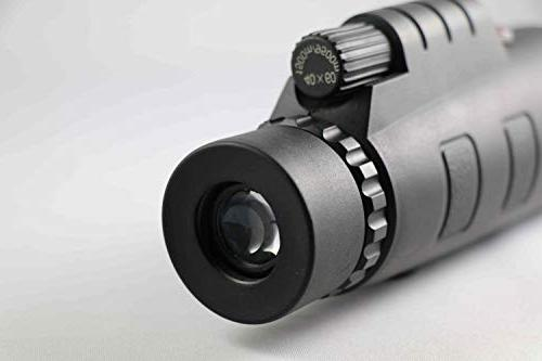 Starscope 10x50 Monocular Waterproof with All with Smartphone Mount Tripod