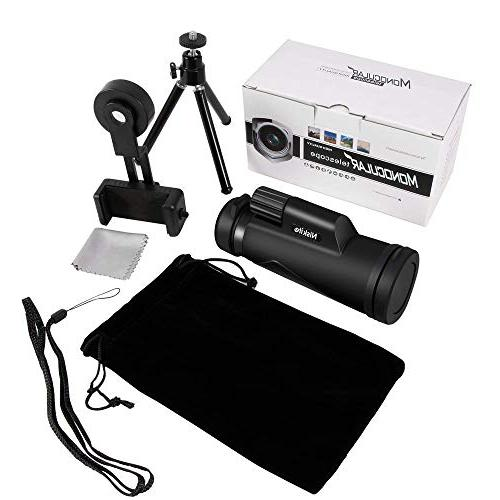 Adult, Power Compact Scope High Definition BAK4 Monoscope for Watching,Hunting,Camping