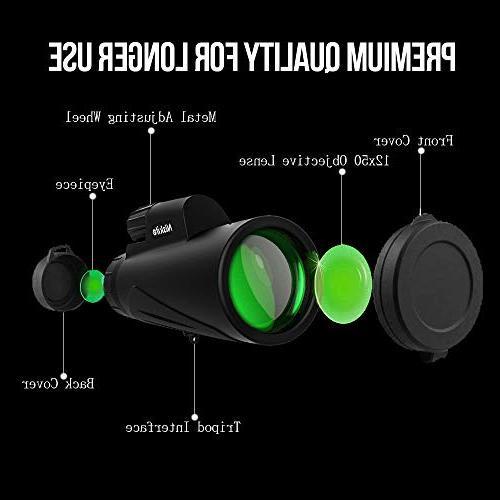 Adult, Compact High Definition FMC Low Monoscope Bird