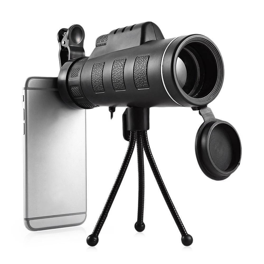 monocular with phone clip telescope hd night