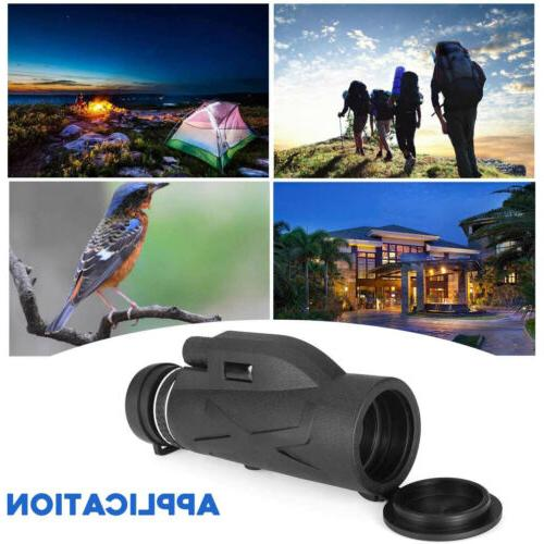 Monocular Portable Prism HD Monocular Telescope with Clip