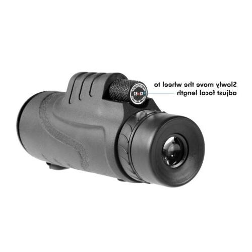 NEW Optical Lens Monocular Telescope+Tripod+Carry