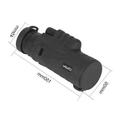 NEW 12X52 Waterproof Optical HD Telescope+Tripod+Carry