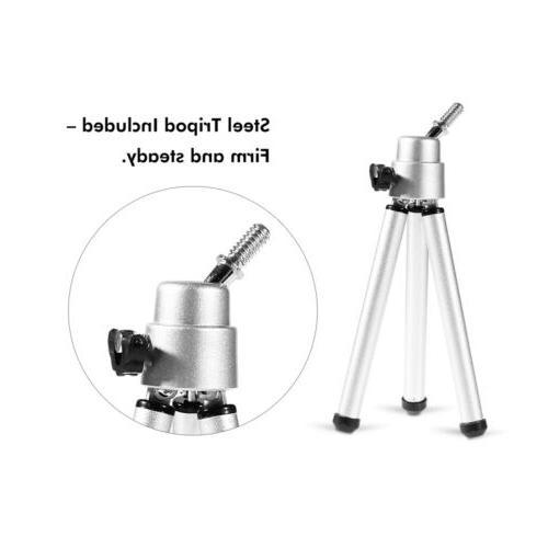 NEW 12X52 Waterproof Optical Lens Monocular Telescope+Tripod+Carry