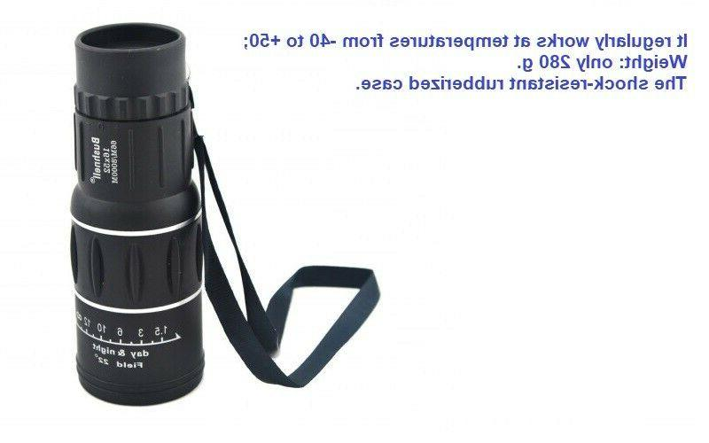 NEW! 66m/8000m Zoom Optical Telescop