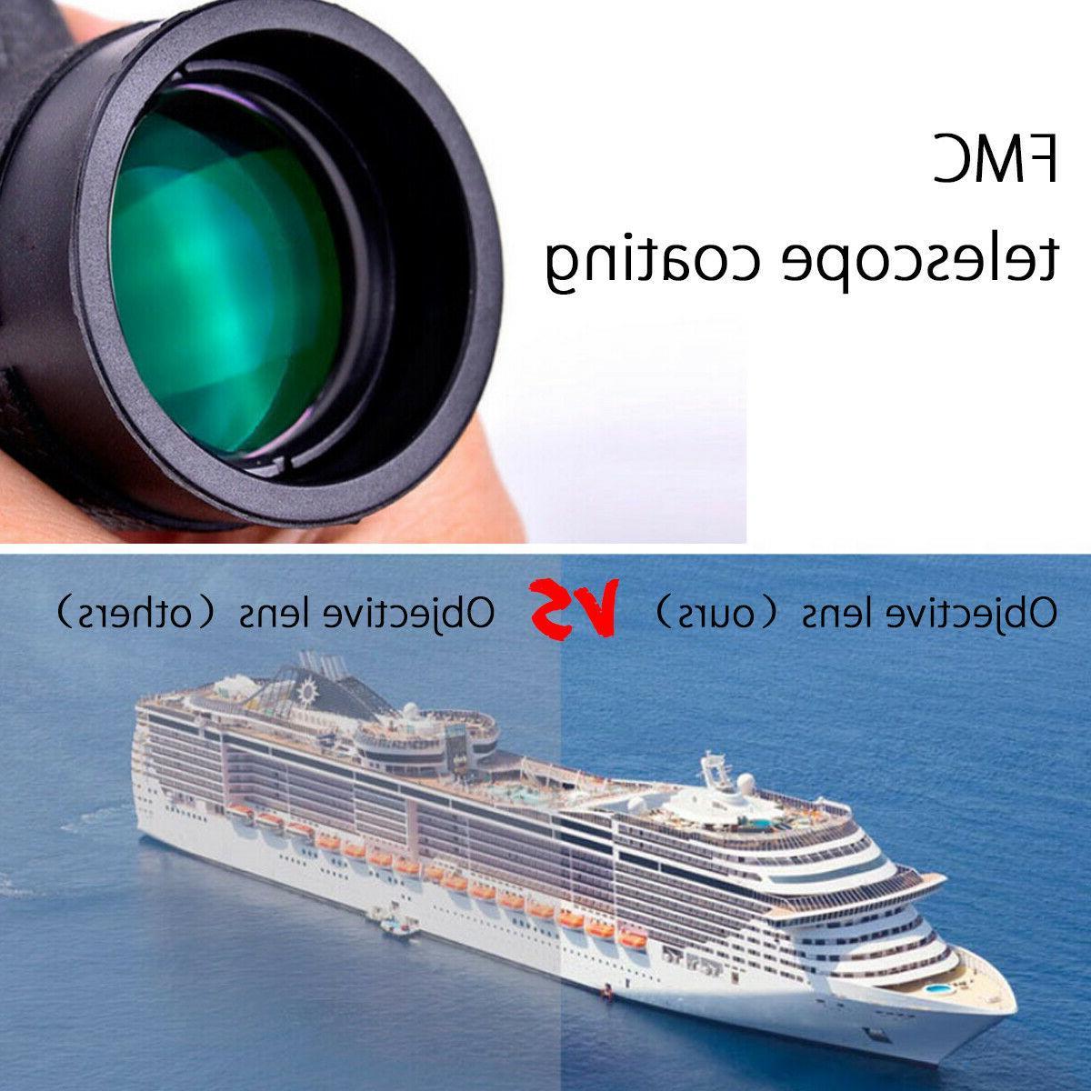 HD Lens Monocular Telescope+Tripod+Clip