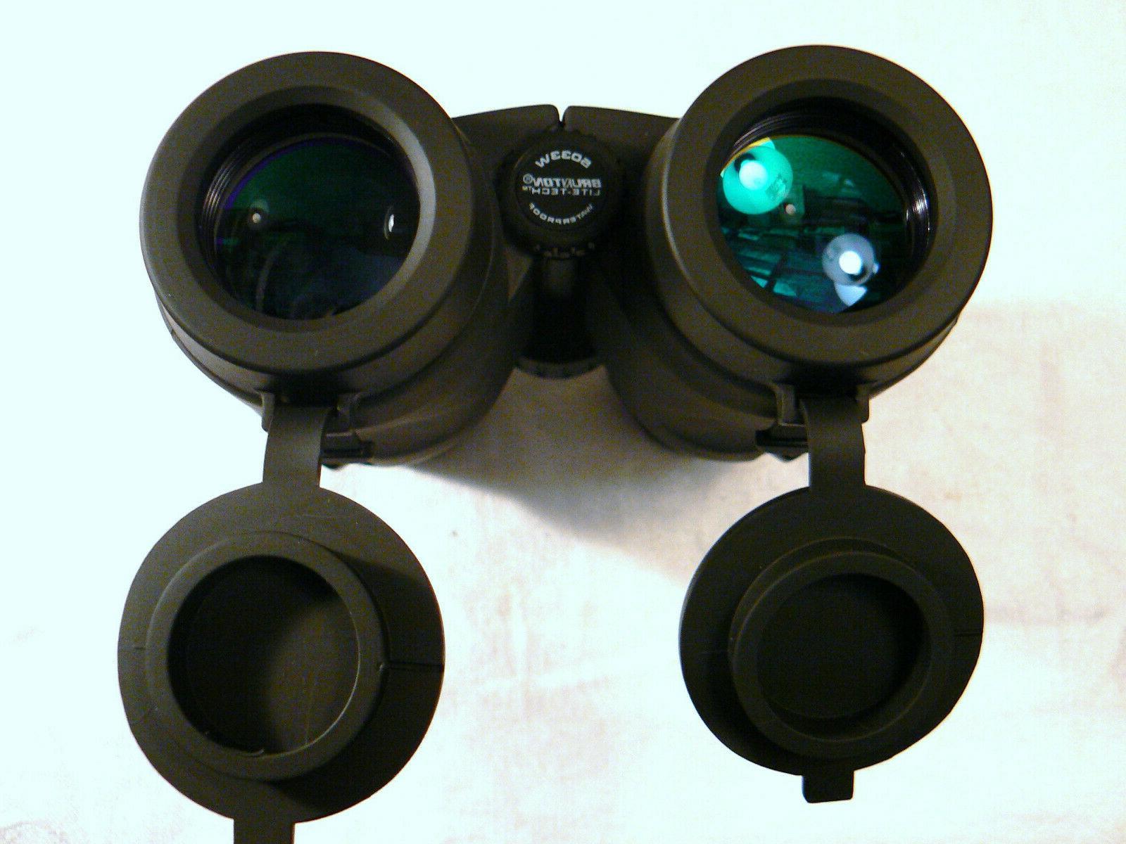 NEW NOS 5033W Lite-Tech Binoculars 8x32 FOV Black