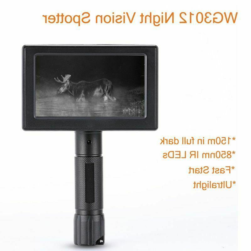 night vision digital hunting cameras 800x480 resolution