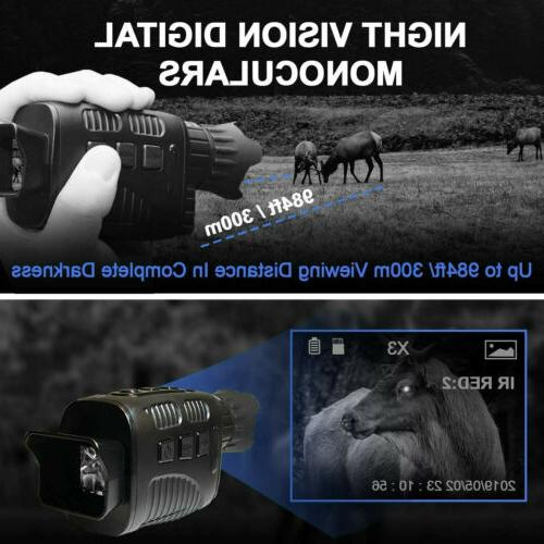 Digital Monoculars Circular Video Recording Hunting Camera
