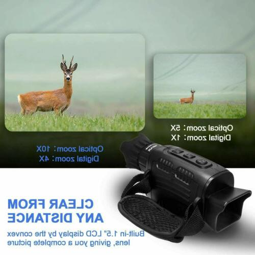 Digital Infrared Night Vision Monoculars Hunting