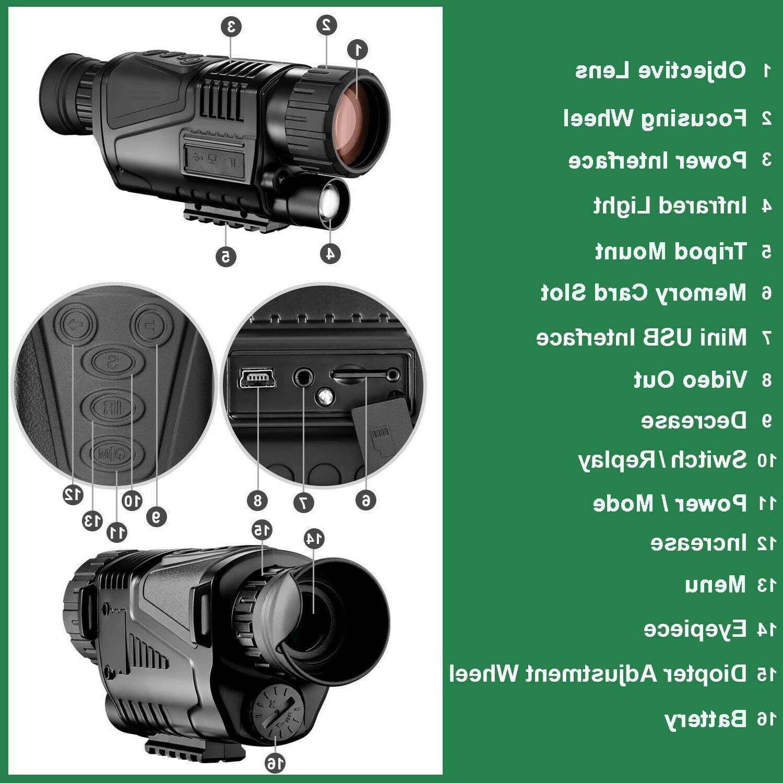 Night Vision INFRARED camera surveillance search rescue