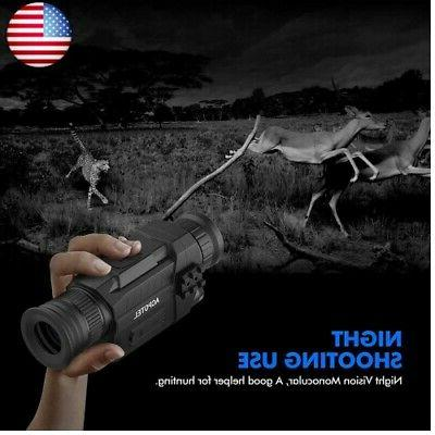 ACPOTEL Night Monocular, 5 x Night Vision HD Scopes with