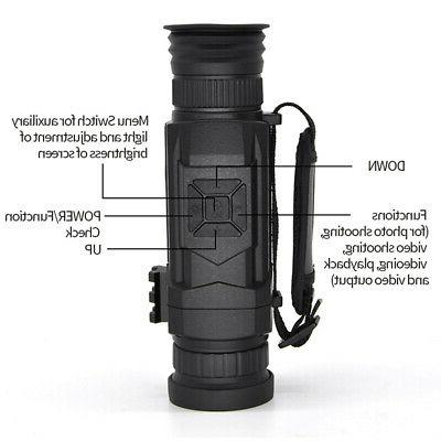 Night vision Monocular Infrared Camera 200M