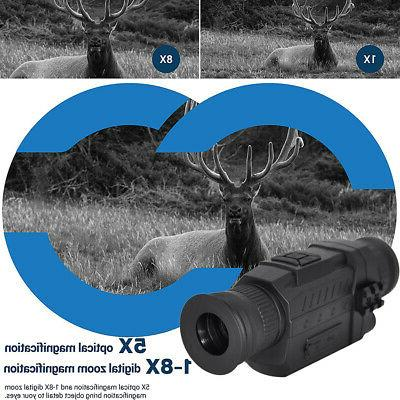 Night vision 5X Infrared Digital Video 200M