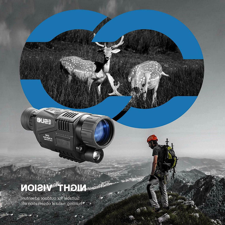 ESSLNB Vision Monocular 5X40 Infrared IR Camera