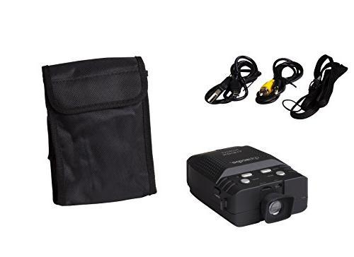 Premium Night Vision Monocular By - Infrared Illuminator - 3x - For - Easy Image Video - 4GB microSD -