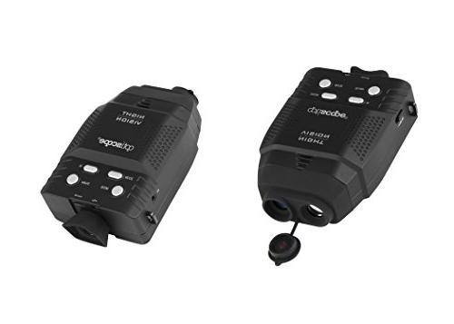 Premium By OPTISCOPE - Infrared Illuminator Range 3x Magnification For - Easy Image Video Capture microSD