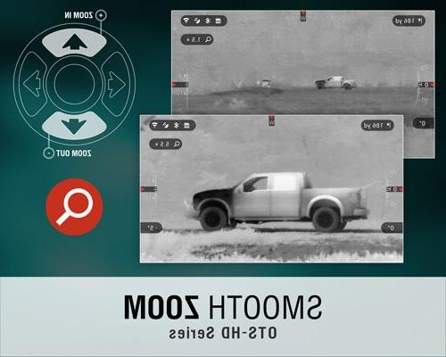 ATN OTS-HD 640x480, Monocular Res Geotagging, E-Zoom, & Android Apps