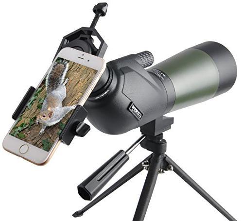 porro prism spotting scope
