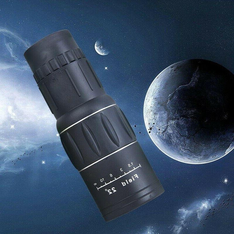 portable monocular telescope high powered 10x40 66m