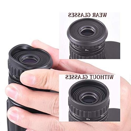 Emarth Power Zoom Telescope Prism Men Gifts for Bird Watching Traveling