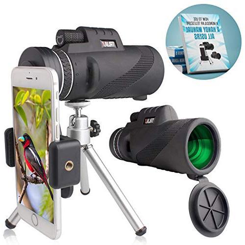 powered monocular telescope incredible smartphone