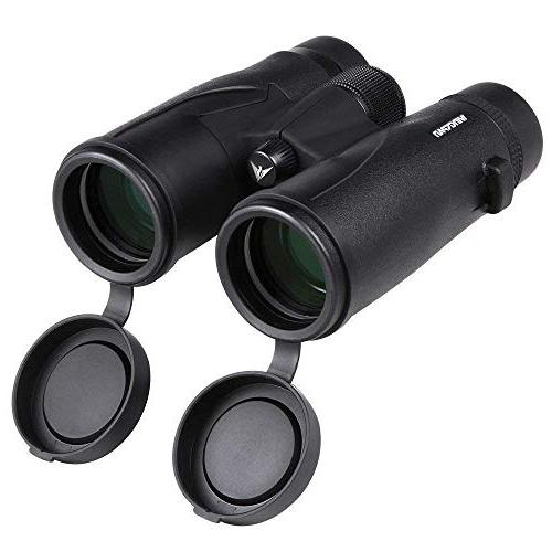 Wingspan Optics HD - 8X42 Binoculars for Adults with ED Waterproof, Wide Field View, Close Focus. Better and Brighter Bird Watching