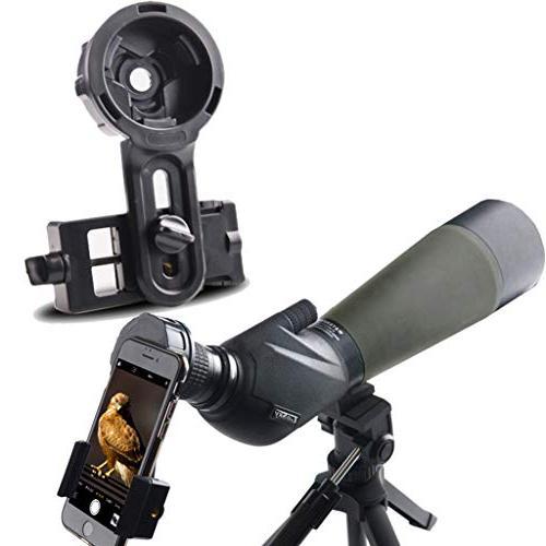 spotting scope smartphone adapter binocular