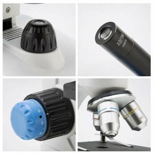 SWIFT Microscope 40X-1000X Optical Cordless