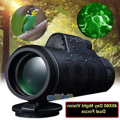 Super High Power 40X60 Portable HD OPTICS Dimly Night Vision