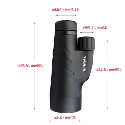 SVBONY SV45 10x50 Monoculars BaK4 MC IPX7 Waterproof US