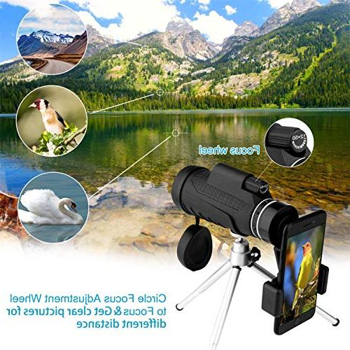 telescopes Adults, High Equipped with Mobile Stand Watching, Games