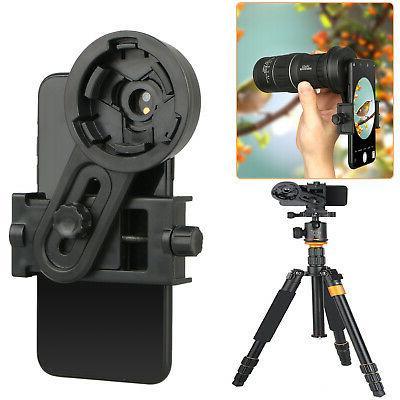 universal cell phone adapter mount binocular monocular