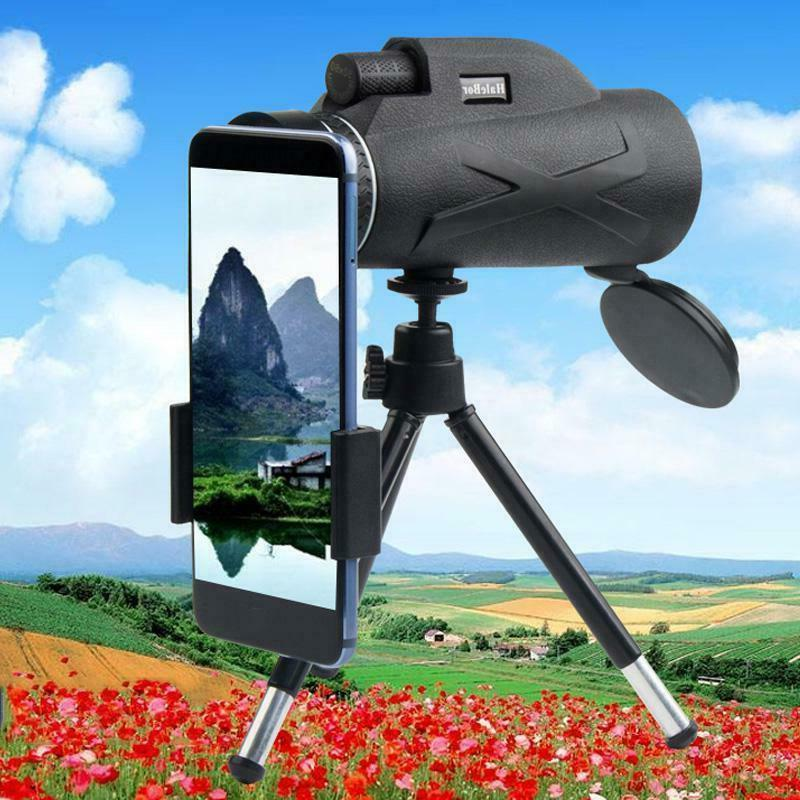 US Portable HD Prism Monocular Cameras Telescope Cell