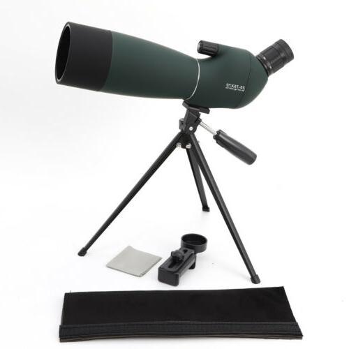 25-75X70 Zoom Monocular Spotting Scope BAK4 Waterproof With