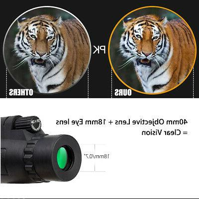 Wifi Infrared IR Monocular Vision Hunting Phone Lens +