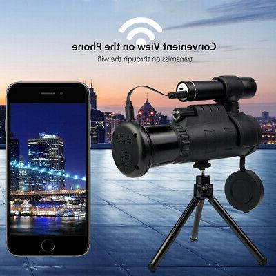 Wifi Monocular Night Telescope Hunting Lens