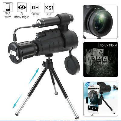 wifi infrared ir hd monocular night vision