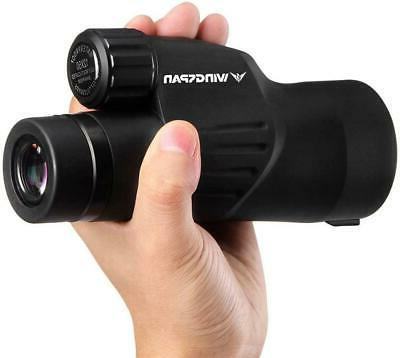 Wingspan Powered Monocular Clear Sing 12X50 Gift