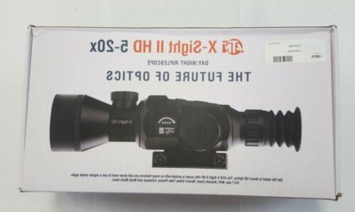 x sight ii hd 5 20x scope