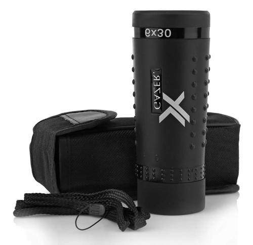 Xgazer Optics YV Bird Watching Clear Wide View Monocular Gri