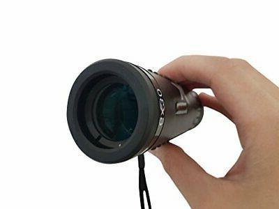 Xgazer Optics Bird Watching Clear Wide Monocular Grip Scope, Great