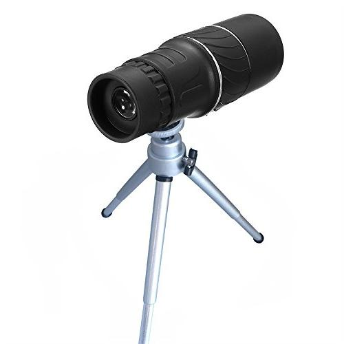 New! Monocular Lens HD Scope +Phone Holder