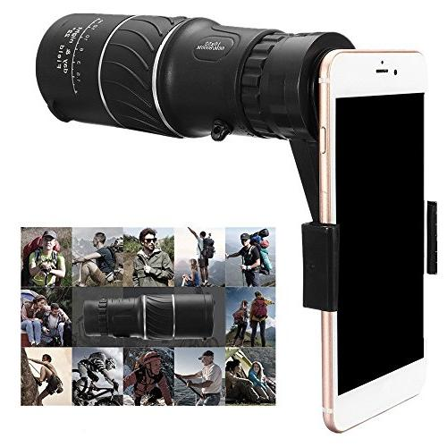 New! 16x52 Zoom Monocular Lens HD +Phone