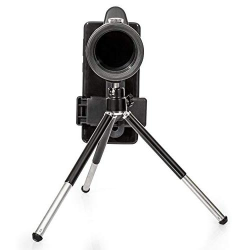 Armstrong Telescope with Smartphone Accessories - High Zoom Lens for Hunting Spotting - with - Android