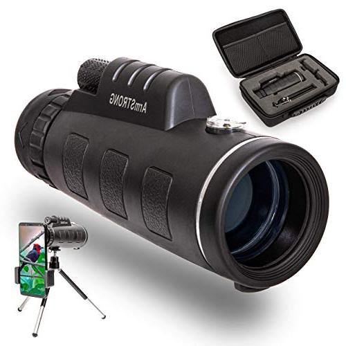 zooming monocular telescope