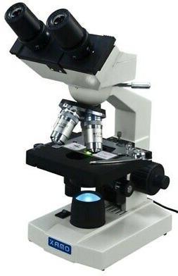 OMAX 40X-2000X Lab LED Binocular Compound Microscope with Do