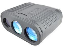 Luna Optics Laser Rangefinder 2000m +  8x25 Speed Meter